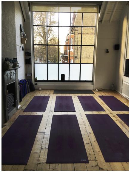 The Power Yoga Company - Shanti room